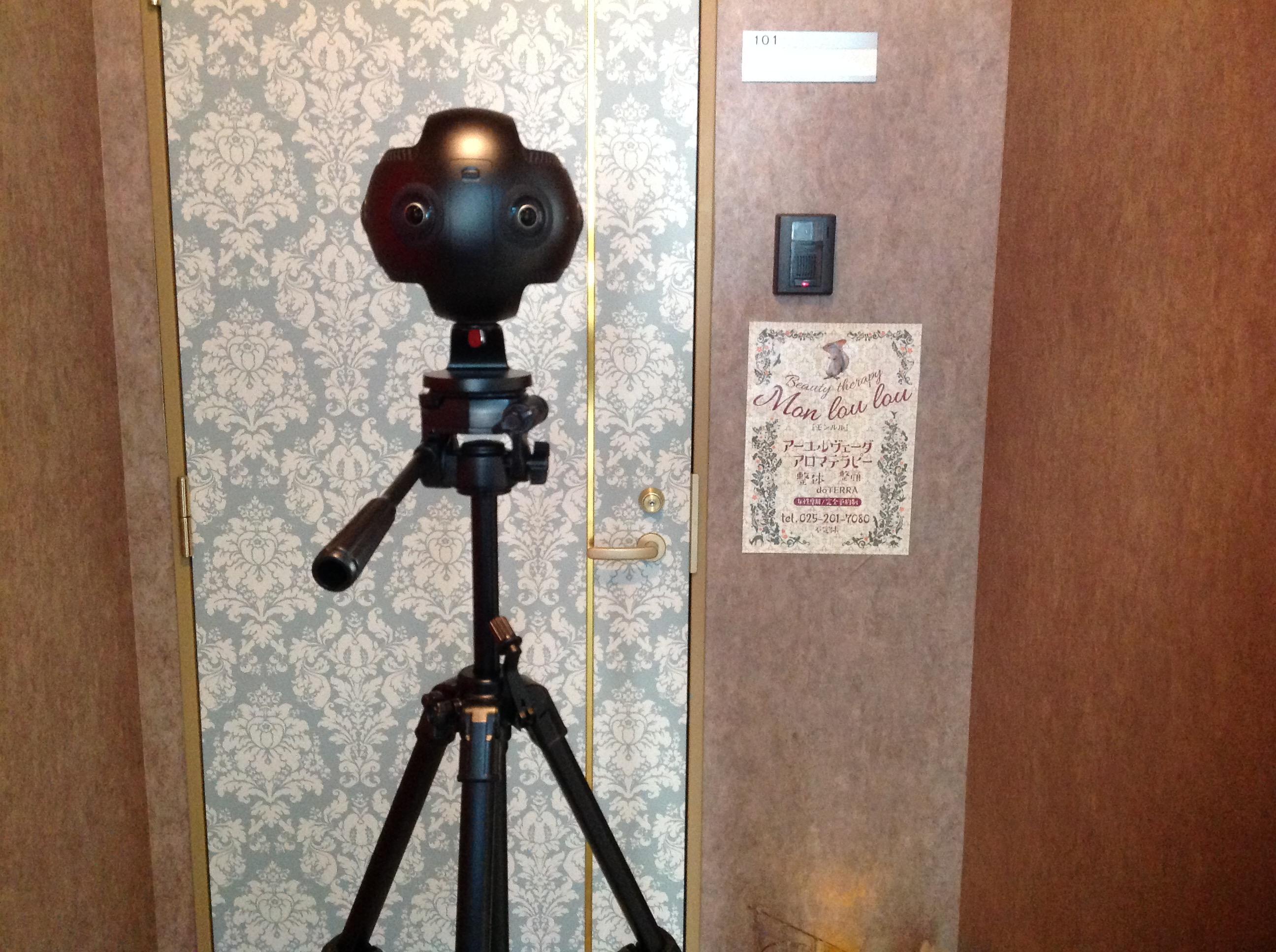 新潟市中央区にあるエステサロンでGoogleストリートビューの撮影