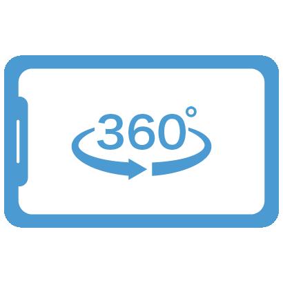高画質な360度コンテンツ