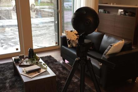 建売物件のVR撮影で長岡市に伺いました