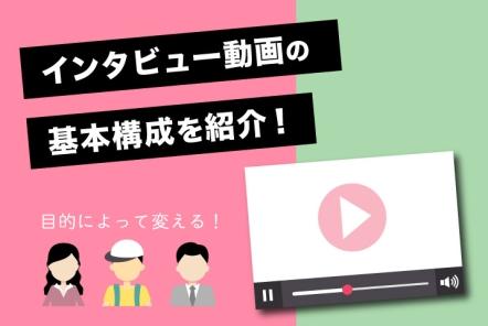 インタビュー動画の基本構成を紹介!【目的によって変える】