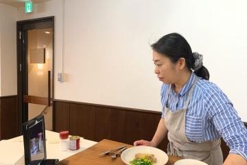 クッキングライフ「nukunuku」様 オンライン料理教室の企画・システムサポート