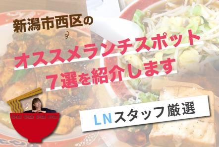 新潟市西区のオススメランチスポット7選を紹介します【LNスタッフ厳選】