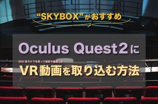 Oculus Quest 2にVR動画を取り込む方法【SKYBOXがおすすめ】