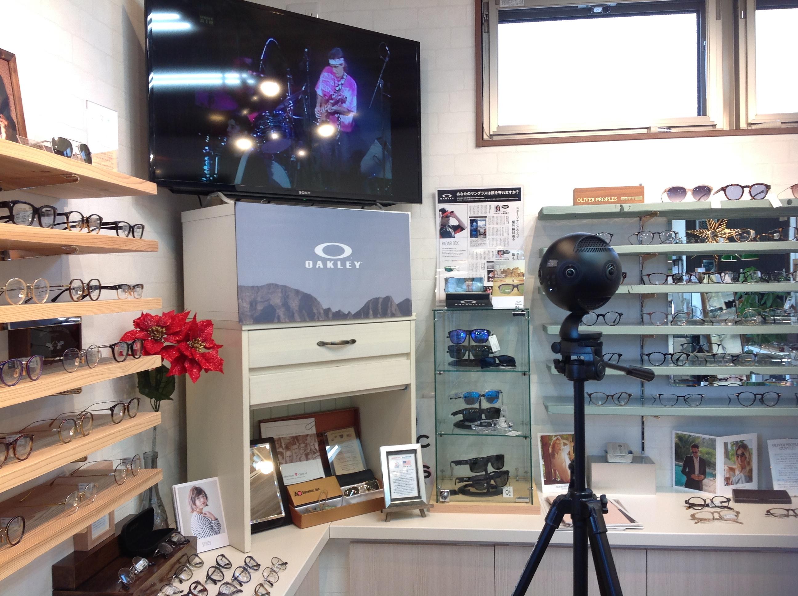 Googleストリートビュー/インドアビューの撮影で新潟市のメガネ店へ