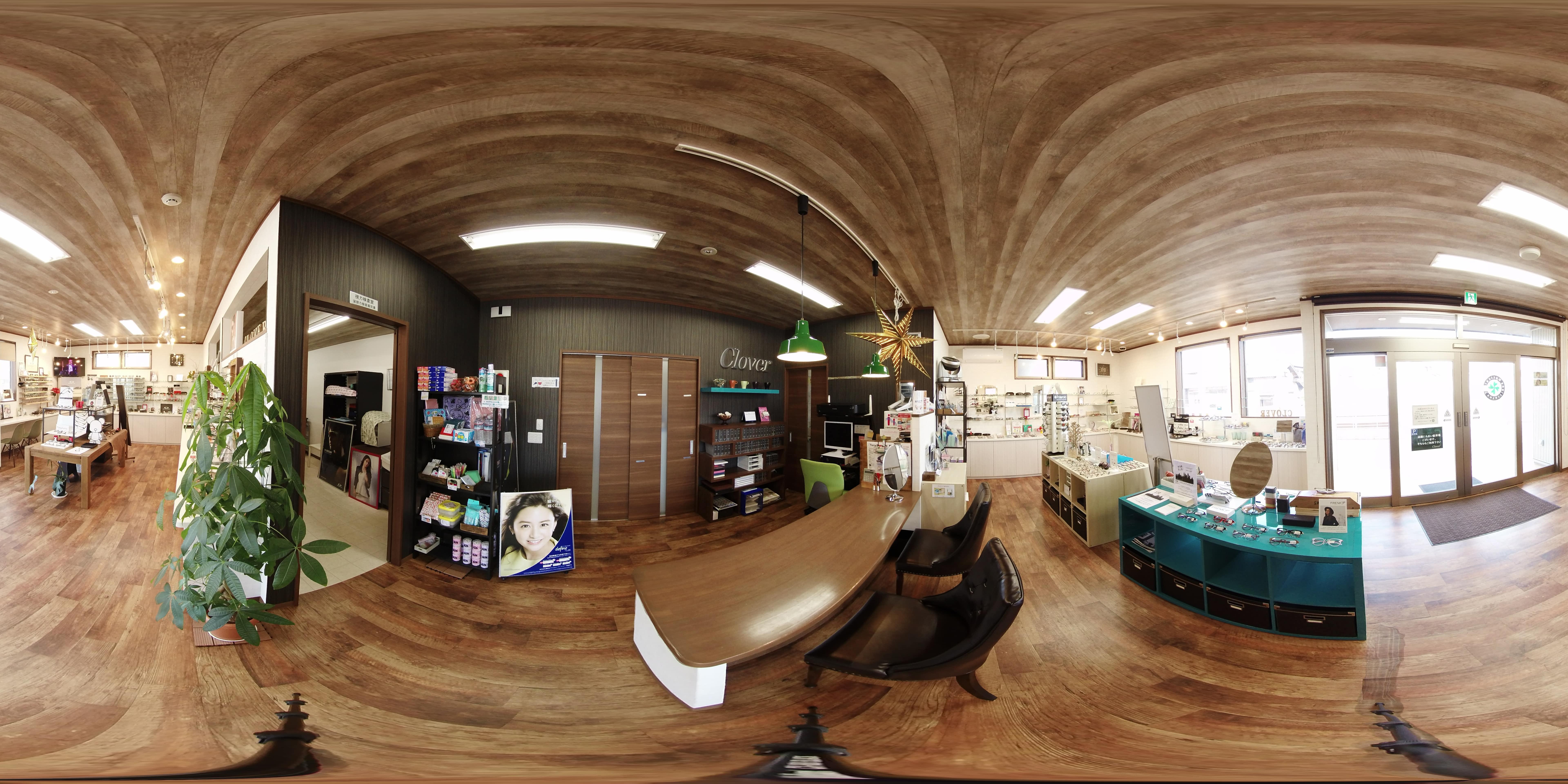 Googleストリートビューの店内撮影