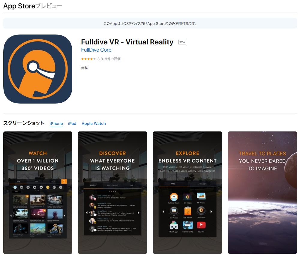 Fulldive VR