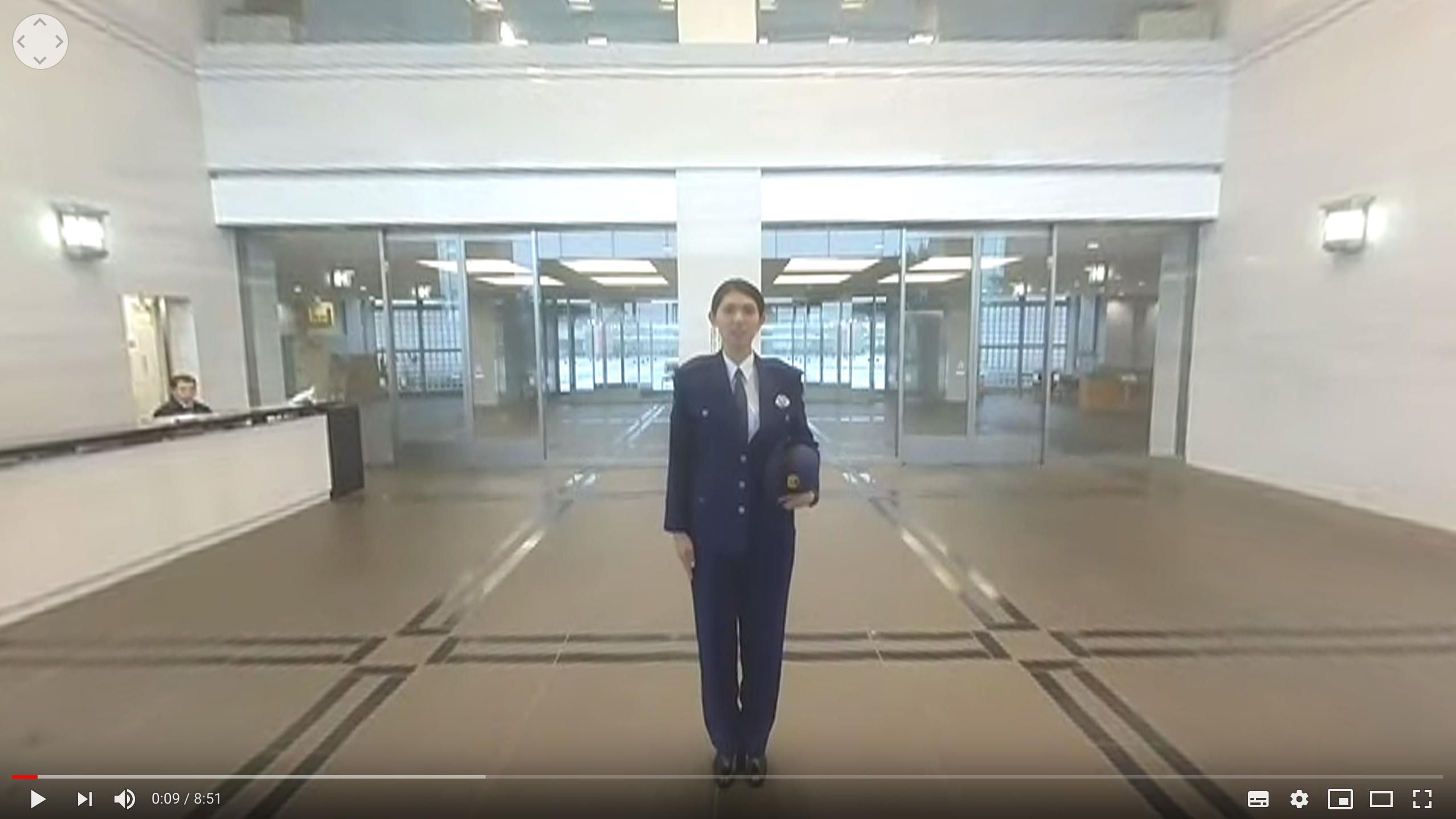 警察学校1日体験VR動画