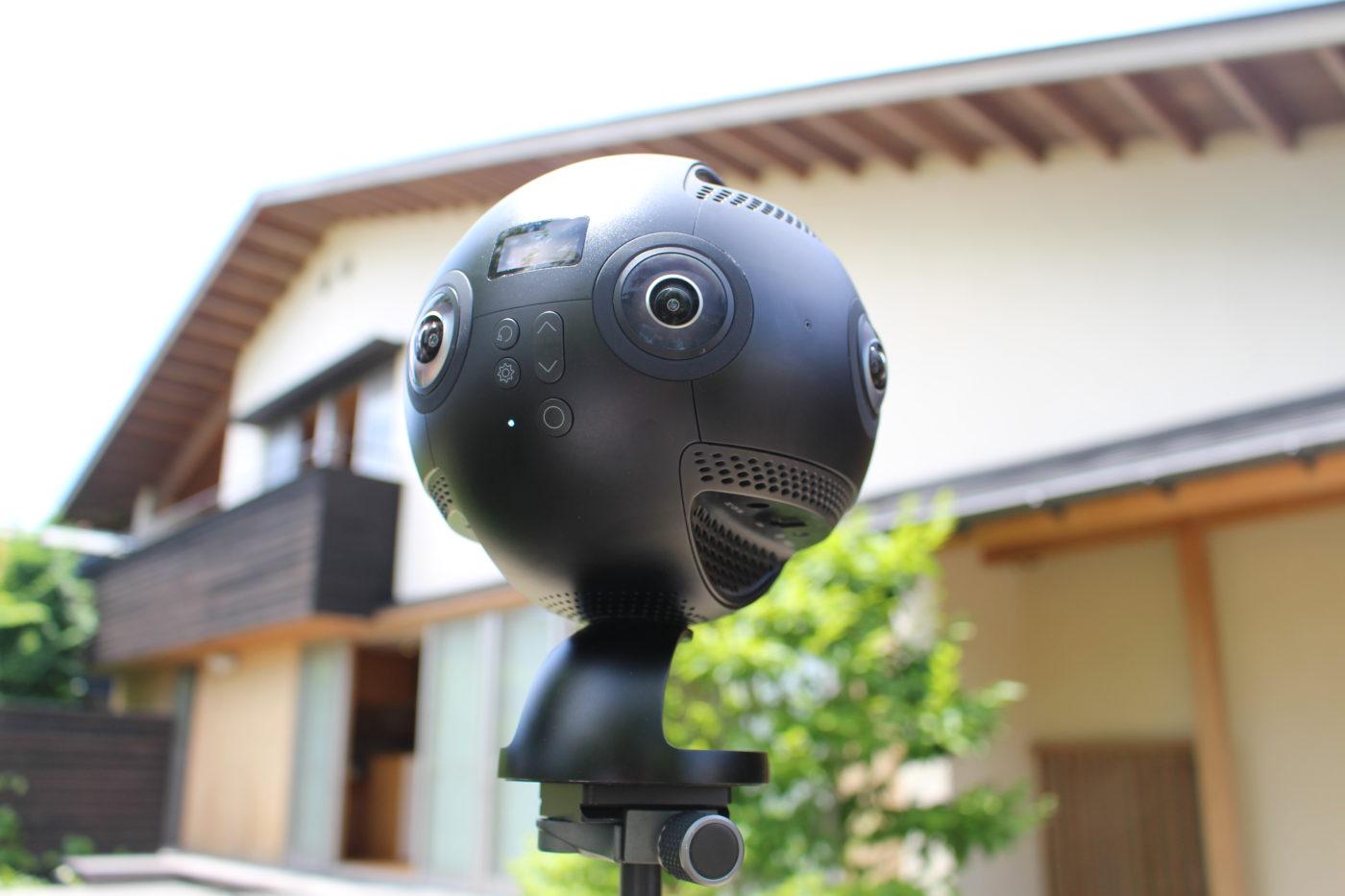 360度カメラの画像