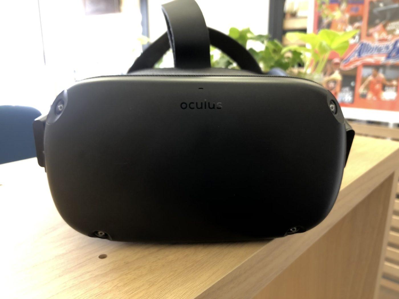 Oculus Quest4つのカメラ