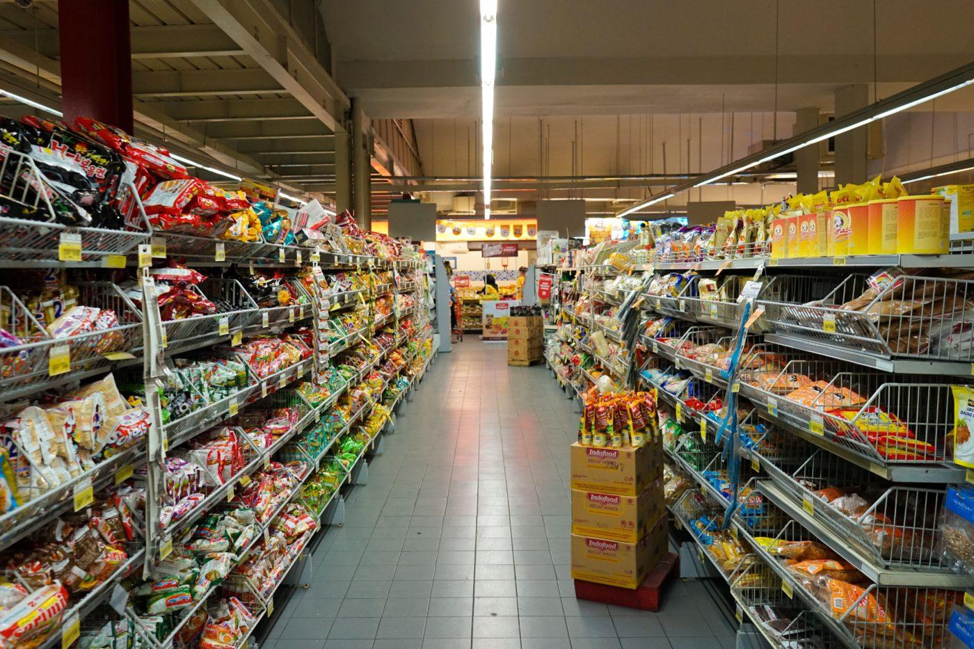 スーパーマーケット店舗