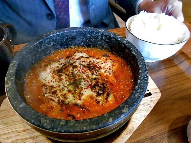 KOREAN KITCHEN cotteji 石焼チーズタッカルビランチ