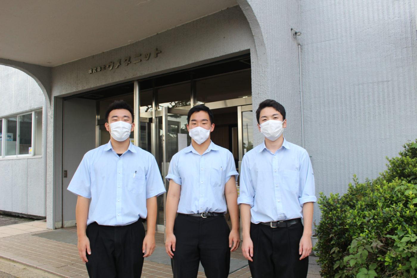 IMG_1396五泉高校生とニット工場で撮影5