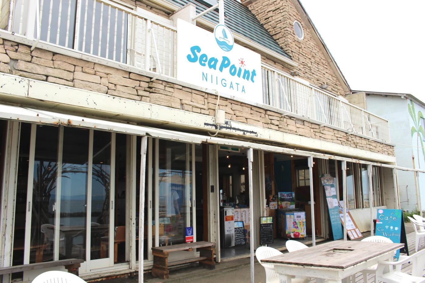 sea point NIIGATAの外観