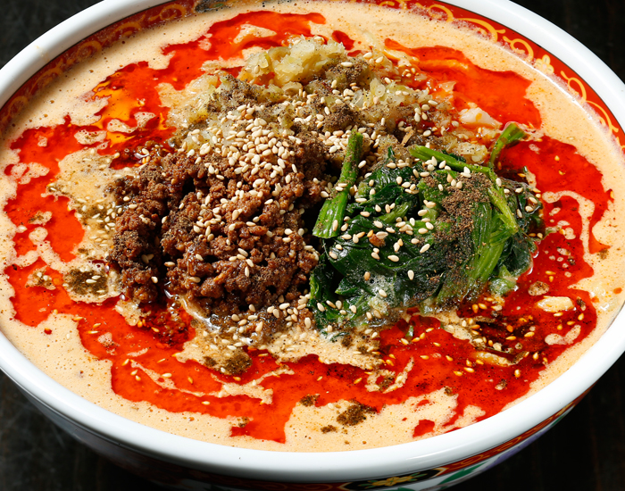 中華麺食堂かなみ屋 極上四川担々麺味噌ベース
