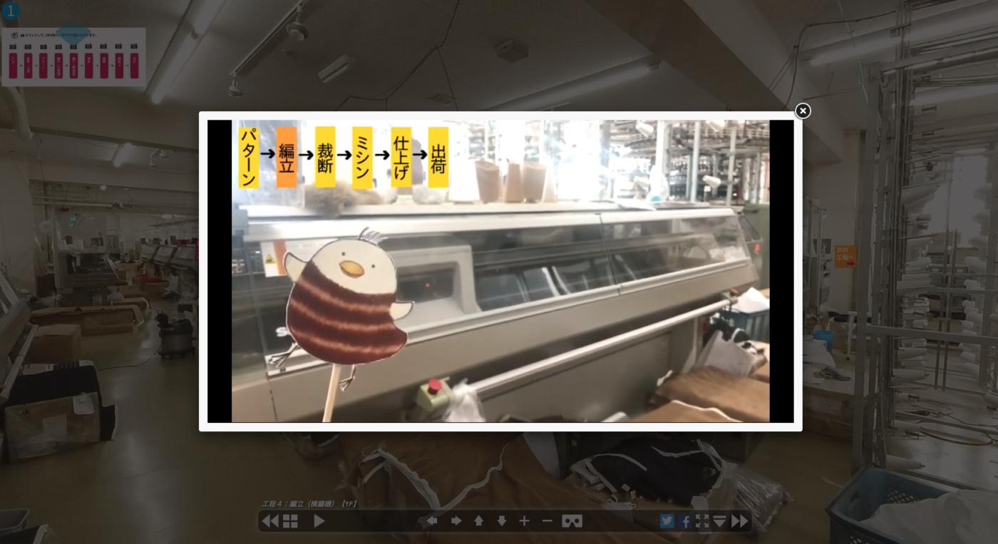 バーチャル工場見学 VR静止画ver.2