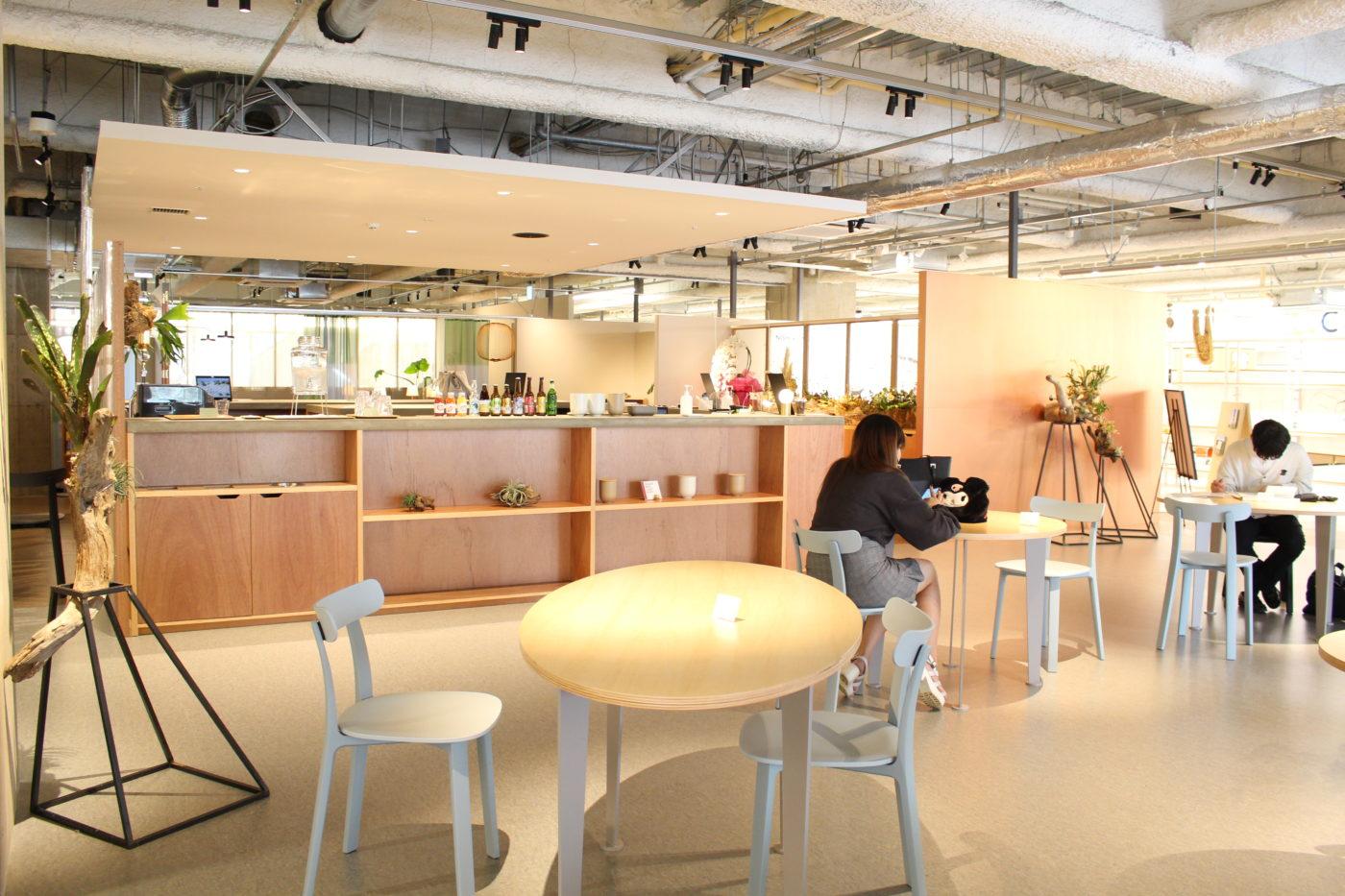 MOYORe: カフェスペース