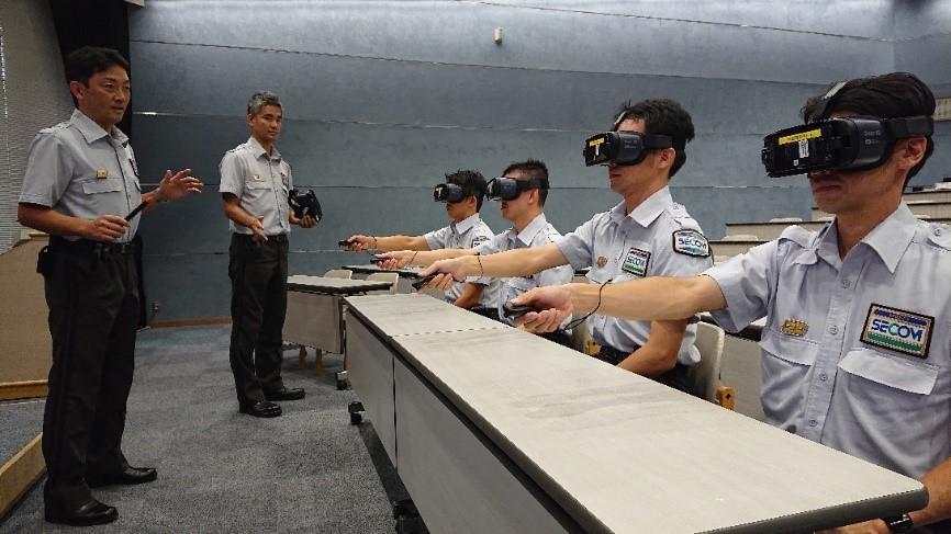 セコム株式会社VR研修プログラム