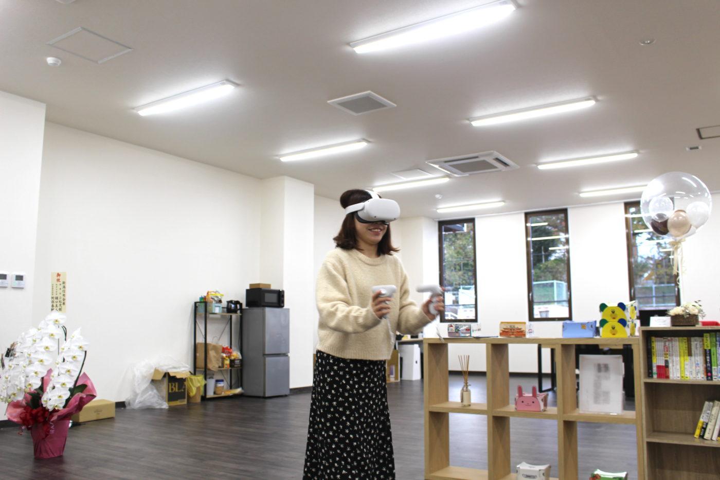 Oculus Quest2を体験