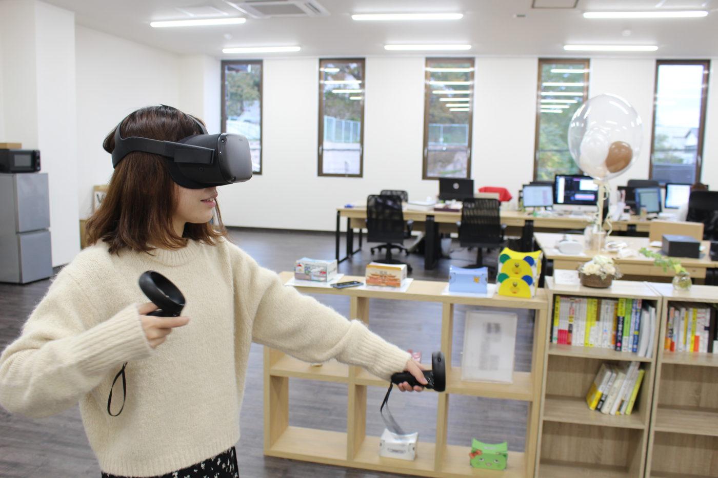 Oculus Questを体験