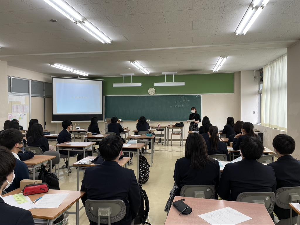 佐渡総合高校 授業の様子 広報