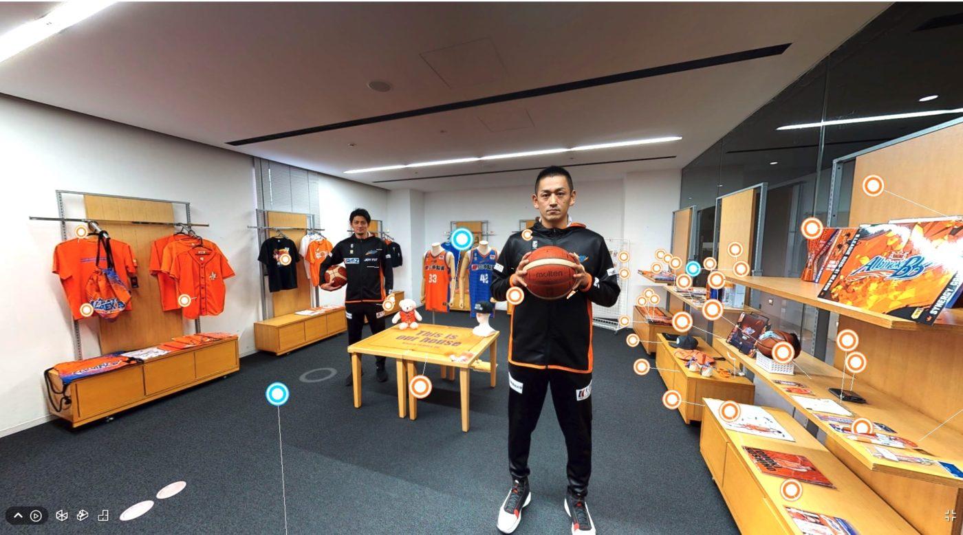 4/13(火)アルビBBオフィシャルバーチャルショップOPEN! ~池田選手、佐藤選手とオンラインの店舗体験を~
