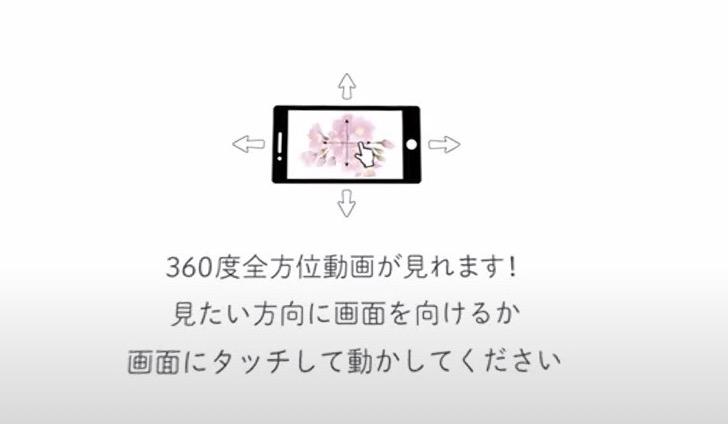 360度動画の説明