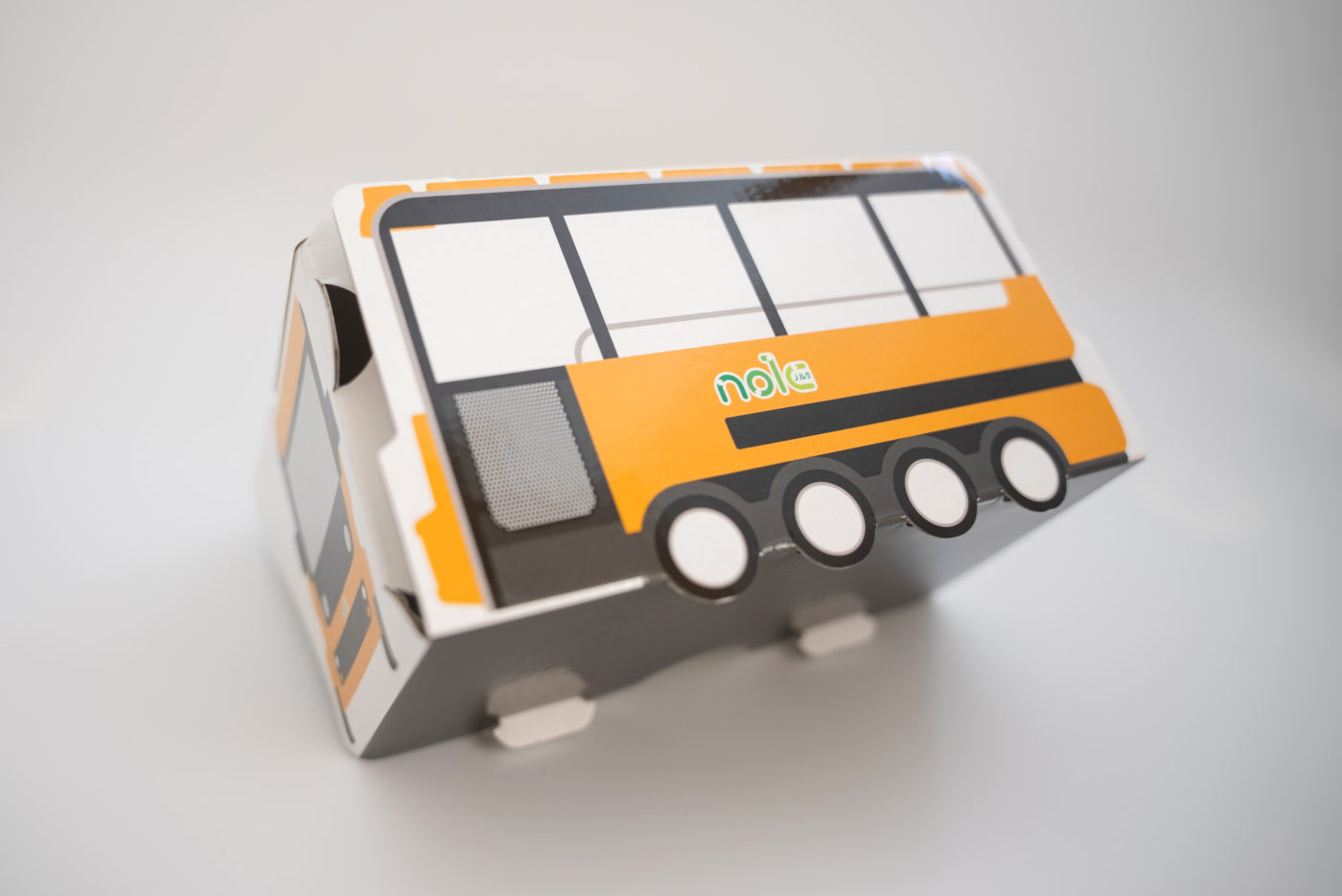 バス型二眼VRゴーグル