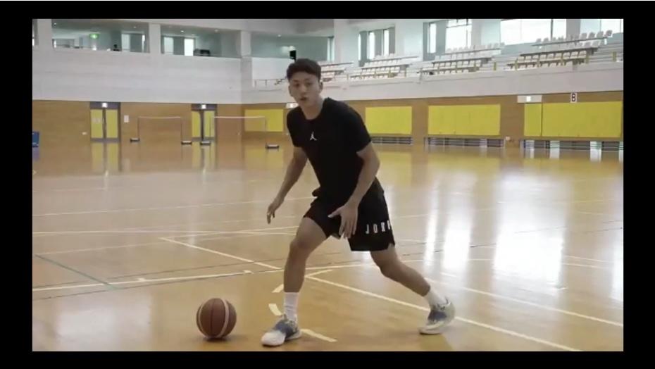 今村佳太選手オンラインバスケ教室 当日の様子2