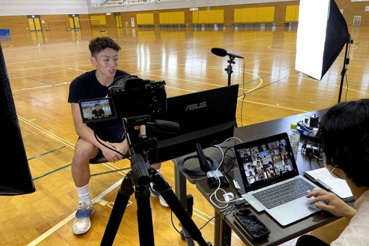 今村圭太選手オンラインバスケ教室