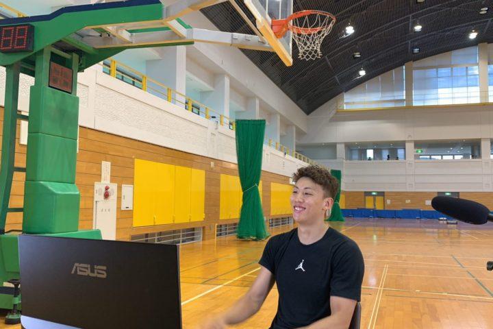 新潟日報に「今村佳太選手オンラインバスケ教室」をご紹介いただきました