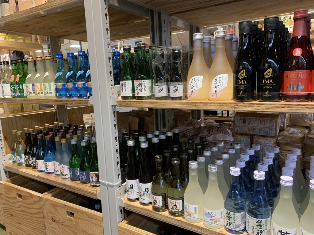 日本酒コーナー